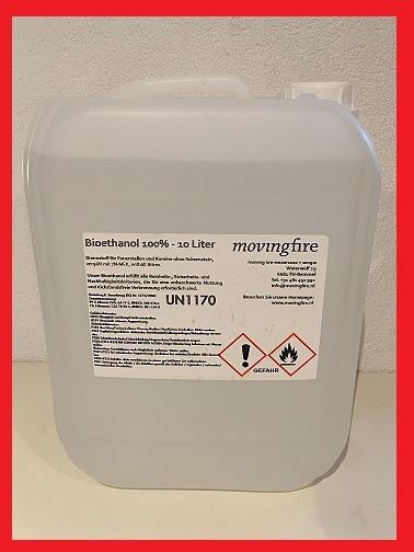 bio ethanol bioethanol 100 10 liter jerrycan. Black Bedroom Furniture Sets. Home Design Ideas